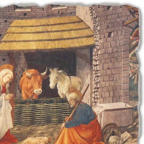"""Fresco mare manual italian Filippo Lippi """"Nașterea Domnului"""""""