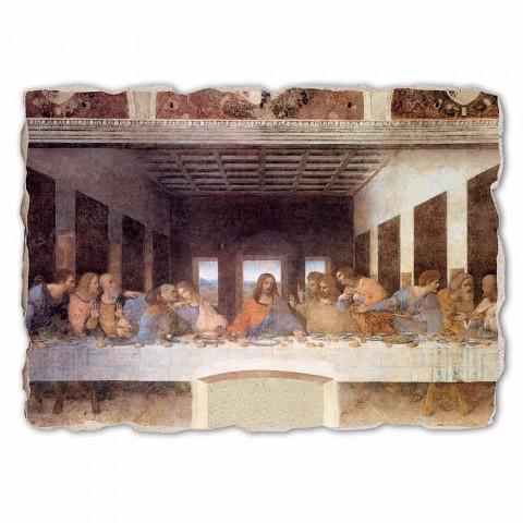 """Great Fresco realizate manual Leonardo da Vinci """"Cina cea de Taină"""""""