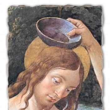"Marele Fresco realizate manual Perugino ""Botezul lui Hristos"""