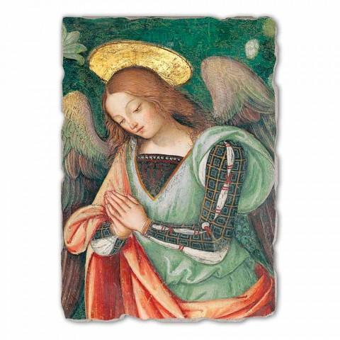 """Marele Fresco Pinturicchio de mîna """"Nașterea"""" parte. Angelo"""