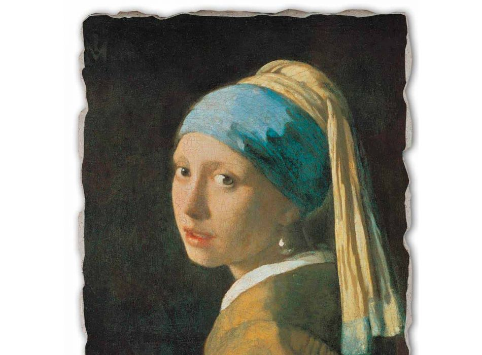 "Great Fresco manual lui Vermeer ""Fata cu turban"""