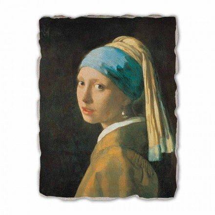 "Great Fresco manual lui Vermeer ""Fata cu turban"""