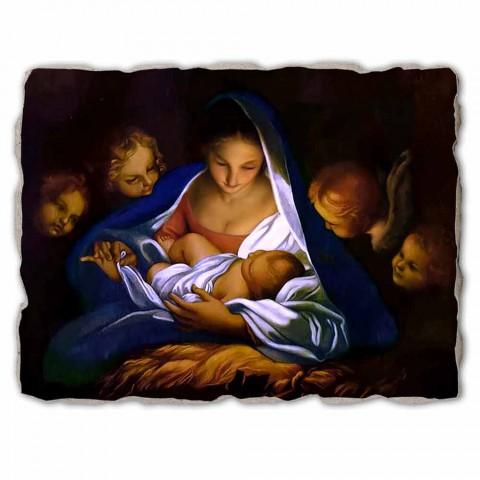 """Great Fresco făcut în Italia Carlo Maratta """"Nașterea Domnului"""", în 1650"""