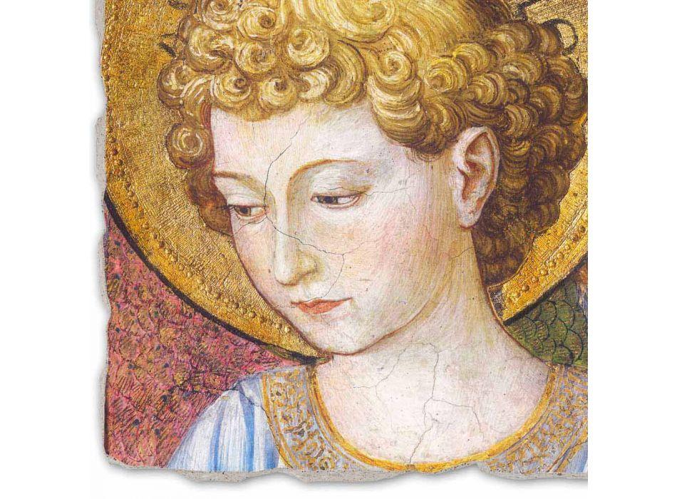 """Marele Fresco Gozzoli """"Coruri de Îngeri în adorație"""" - ca 1454"""