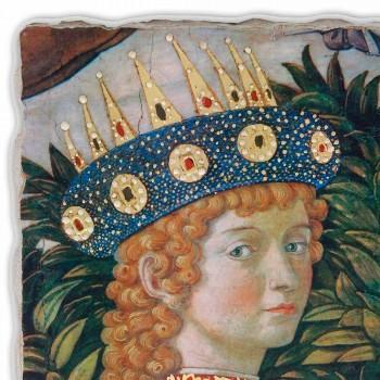 """Marele Fresco Gozzoli """"Cortegiul Magilor cu regele Belșațar"""""""