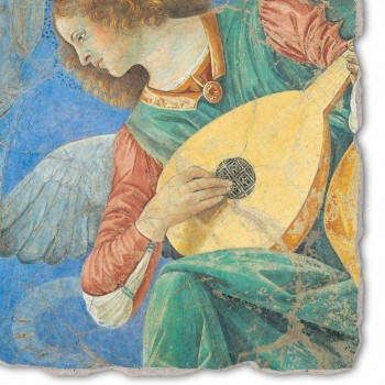 """Marele Fresco Melozzo da Forlì """"Angelo Musicante"""""""