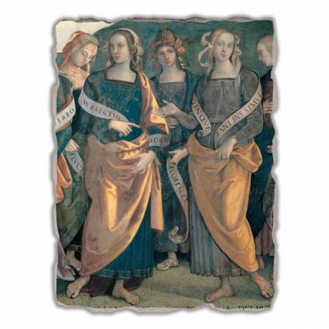 "Marele Fresco Perugino ""Lord of the Angels, Profeții și Sibilelor"""