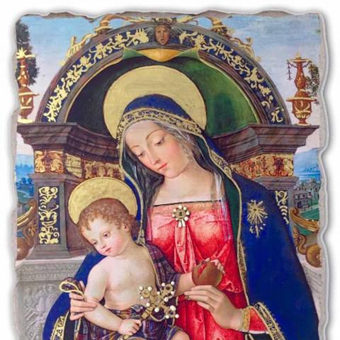 Fresco Pinturicchio mare altar Santa Maria dei Fossi