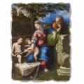 """Marele Fresco R. Sanzio """"Sfânta Familie sub stejar"""""""