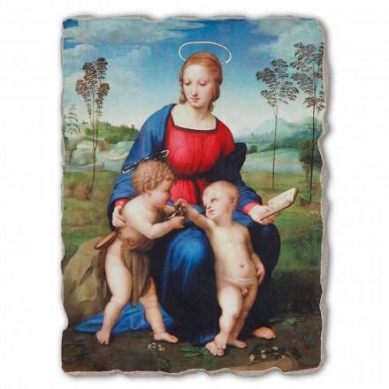 "Marele Fresco Raffaello Sanzio ""Madonna a goldfinch"""