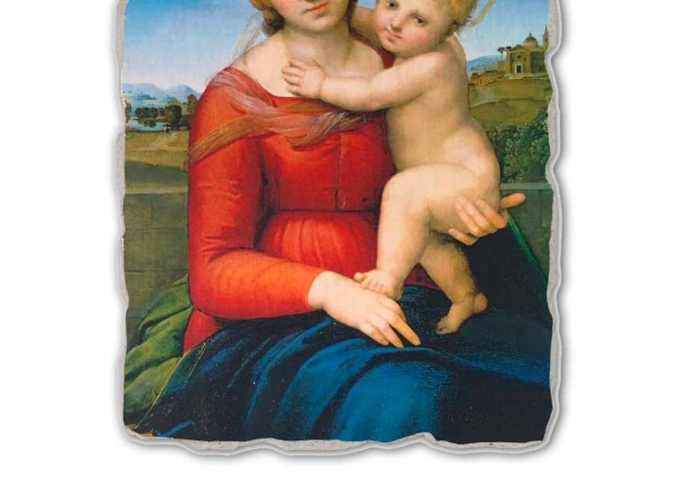 """Fresco mare Raffaello Sanzio """"Small Cowper Madonna"""", în 1505"""