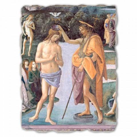 """joc mare Perugino Frescă """"Botezul lui Hristos"""""""