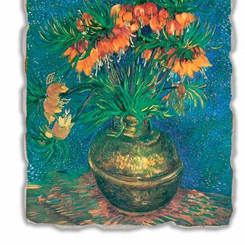 """Marele Fresco Vincent Van Gogh """"Still Life cu Fritillaries"""""""