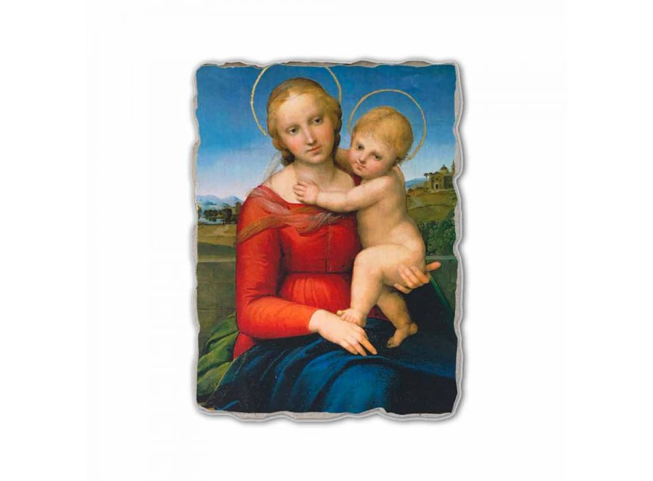 """Fresco Raffaello Sanzio """"Small Cowper Madonna"""", în 1505"""