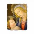 """Fresco juca Botticelli """"Madonna a cărții"""""""