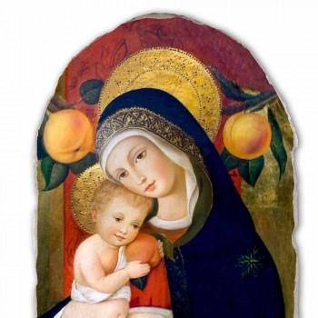 """Reproducerea Fresco Carlo Crivelli """"Madonna și Copilului"""" secolul al XV-"""