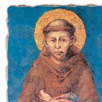 "Fresco reproducere Cimabue ""San Francesco"" XIII-lea"