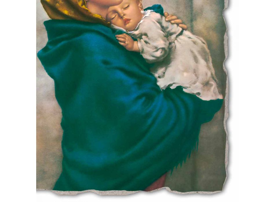"Reproducerea Fresco manual Ferruzzi ""Our Lady of Rest"""