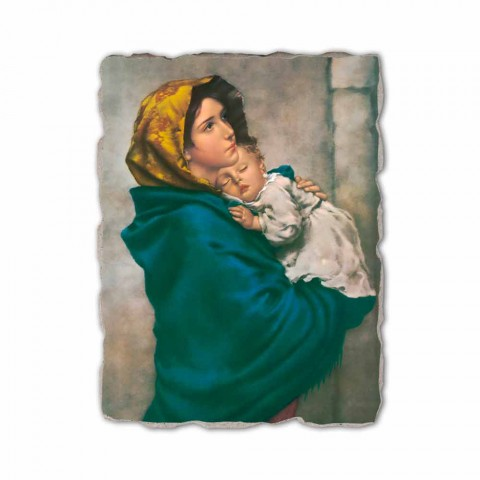 "Reproducerea Fresco manual Ferruzzi ""Our Lady of Rest"""