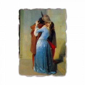 Fresco reproducere realizate manual în Italia Hayez Kiss