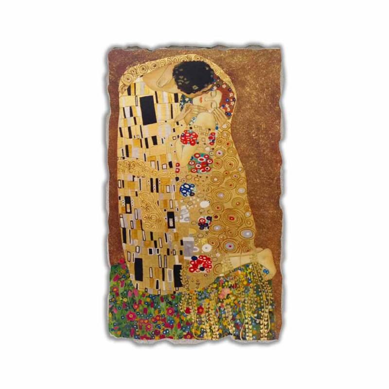 """Fresco reproducerea făcută în Italia Gustav Klimt """"Sărutul"""""""