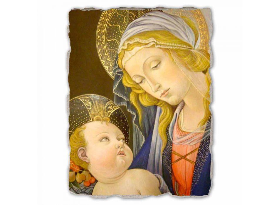 """Fresco joc mare Botticelli """"Madonna a cărții"""""""