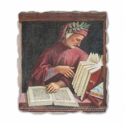 "Fresco reproducere Luca Signorelli ""Dante Alighieri"" 1499-1502"