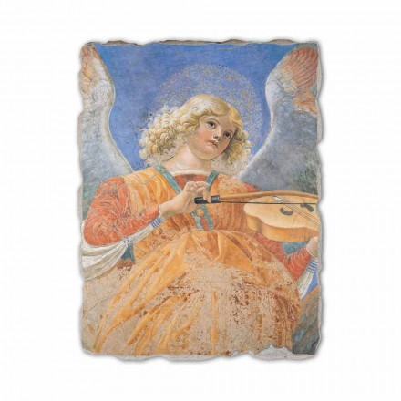 "Fresco reproducere Melozzo da Forlì ""Angelo Musicante"""