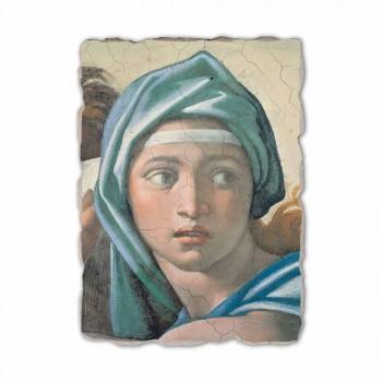 """reproducere Fresco Michelangelo """"delfică sibilă"""""""
