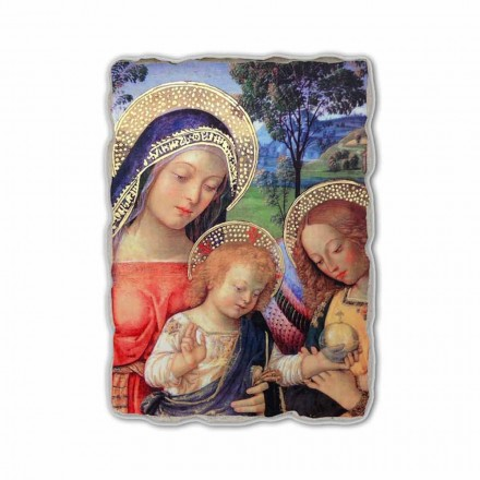 """Fresco Pinturicchio joacă """"Lady of Peace"""" parte."""