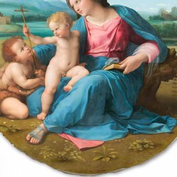 """Reproducerea Fresco Raffaello Sanzio """"Alba Madonna"""", 1510"""