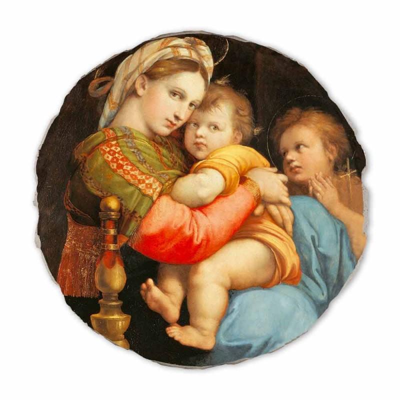 "Fresco reproducere Raffaello Sanzio ""Madonna a președintelui"""