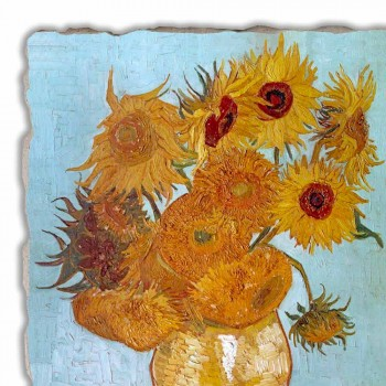 """reproducere Fresco Vincent Van Gogh """"Vas de Floarea soarelui"""""""