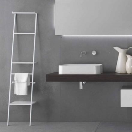 Cuier pentru scară cu design modern alb sau colorat - Caloina