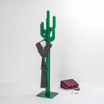 Coat sta verde Cactus design modern, realizat în Italia