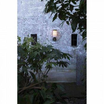 Aplica de exterior în alamă și sticlă albă - Loggia de la Il Fanale