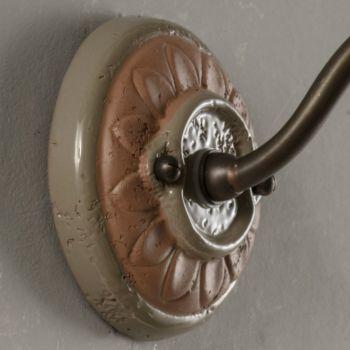 Aplica de exterior Artisan în Galestro Made in Italy - Toscot Spoleto