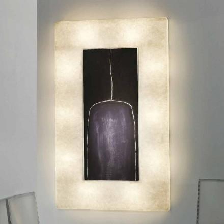 Design modern de perete In-es.artdesign Lunar Bottle 2 în nebulită