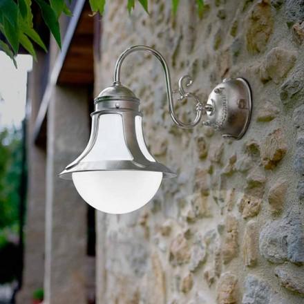 alama perete alb de sticlă suflată Loggia