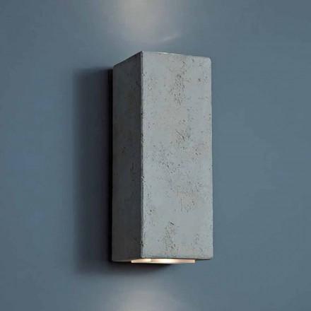 LED lampă de perete de design exterior în argilă de înaltă 24cm Smith - Toscot