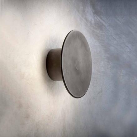 Lampă de perete pentru exterior modern în cupru Made in Italy - Pasdedeux Aldo Bernardi