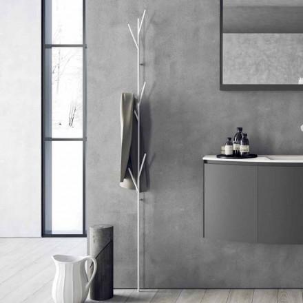 Suport pentru pardoseli cu design modern în alb sau metal cromat - Kottac