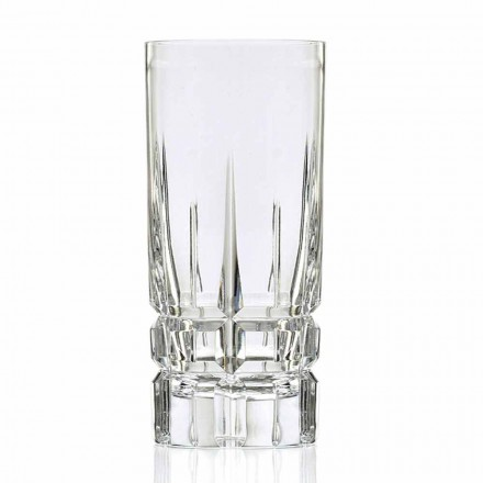 Pahar Highball Cocktail Glass Pahar mare 12 bucăți în cristal ecologic - Fiucco