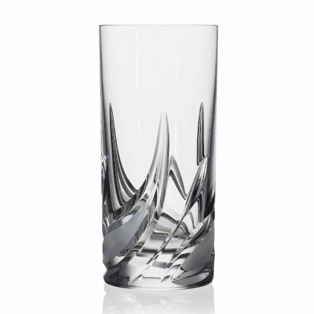Pahar de cocktail Highball Tumbler High Crystal, 12 bucăți - Advent