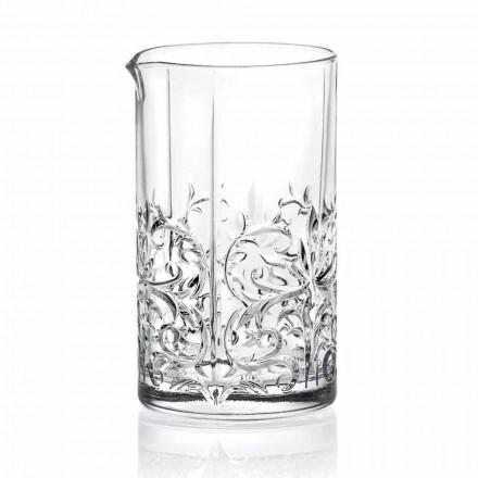 Amestec de sticlă cu decor excentric Design de lux 4 piese - Destino