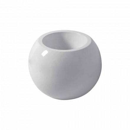 Bideu sferic din ceramică colorată Fanna