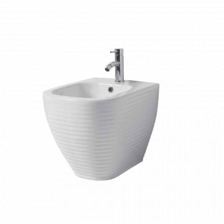Bideu pentru terase din ceramică albă sau colorată cu glazură Trabia