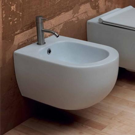 Hung bideu design modern 55x35cm ceramice de stele Made in Italy