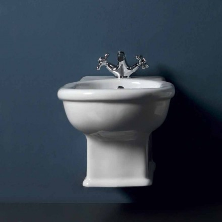 Bideu remarcabil clasic alb ceramice Style 54x36 cm, made in Italy