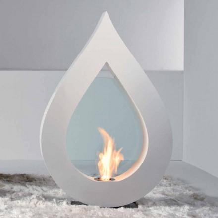Biocamino de bioetanol pământ, Todd un design modern în formă de flacără